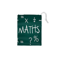 Maths School Multiplication Additional Shares Drawstring Pouches (XS)