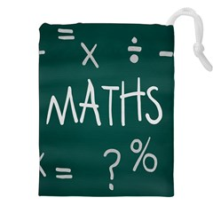 Maths School Multiplication Additional Shares Drawstring Pouches (XXL)