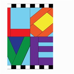 Rainbow Love Large Garden Flag (Two Sides)