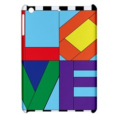 Rainbow Love Apple iPad Mini Hardshell Case