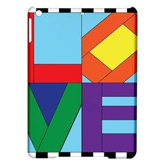Rainbow Love iPad Air Hardshell Cases