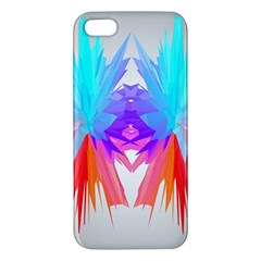 Poly Symmetry Spot Paint Rainbow iPhone 5S/ SE Premium Hardshell Case