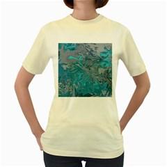 Colors Women s Yellow T-Shirt