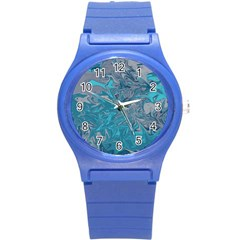 Colors Round Plastic Sport Watch (S)