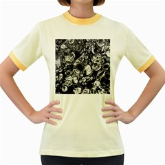 Colors Women s Fitted Ringer T-Shirts