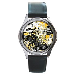 Colors Round Metal Watch