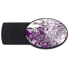 Colors USB Flash Drive Oval (1 GB)