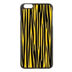 Pattern Apple iPhone 6 Plus/6S Plus Black Enamel Case