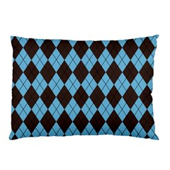 Plaid pattern Pillow Case (Two Sides)