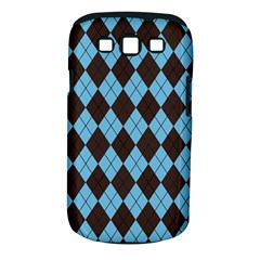 Plaid pattern Samsung Galaxy S III Classic Hardshell Case (PC+Silicone)