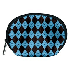 Plaid pattern Accessory Pouches (Medium)