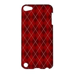 Plaid pattern Apple iPod Touch 5 Hardshell Case