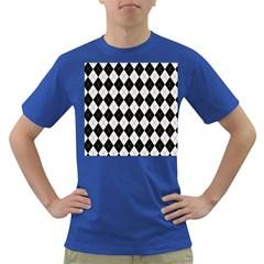 Plaid pattern Dark T-Shirt