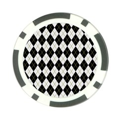 Plaid pattern Poker Chip Card Guard (10 pack)