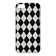 Plaid pattern Apple iPhone 5C Hardshell Case
