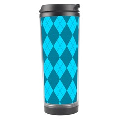 Plaid pattern Travel Tumbler