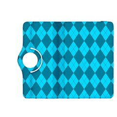Plaid pattern Kindle Fire HDX 8.9  Flip 360 Case