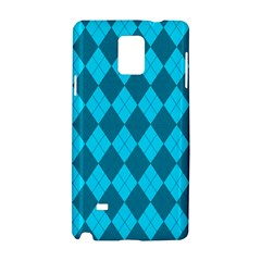 Plaid pattern Samsung Galaxy Note 4 Hardshell Case