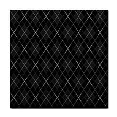 Plaid pattern Tile Coasters