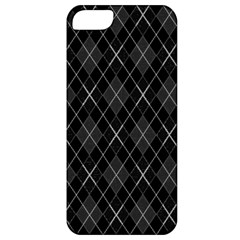 Plaid pattern Apple iPhone 5 Classic Hardshell Case