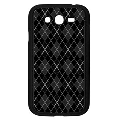 Plaid pattern Samsung Galaxy Grand DUOS I9082 Case (Black)