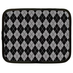 Plaid pattern Netbook Case (XL)
