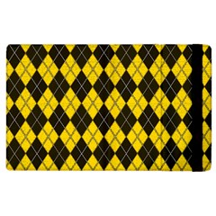 Plaid pattern Apple iPad 2 Flip Case