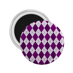 Plaid pattern 2.25  Magnets