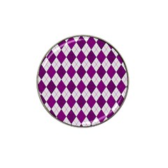 Plaid pattern Hat Clip Ball Marker (10 pack)