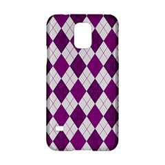 Plaid pattern Samsung Galaxy S5 Hardshell Case