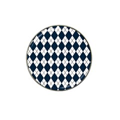 Plaid pattern Hat Clip Ball Marker (4 pack)