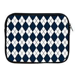 Plaid pattern Apple iPad 2/3/4 Zipper Cases
