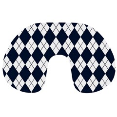Plaid pattern Travel Neck Pillows