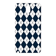 Plaid pattern Samsung Galaxy Note 3 N9005 Hardshell Back Case