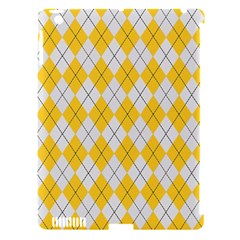 Plaid pattern Apple iPad 3/4 Hardshell Case (Compatible with Smart Cover)