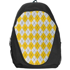 Plaid Pattern Backpack Bag