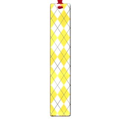 Plaid pattern Large Book Marks