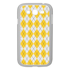 Plaid pattern Samsung Galaxy Grand DUOS I9082 Case (White)