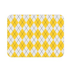 Plaid pattern Double Sided Flano Blanket (Mini)