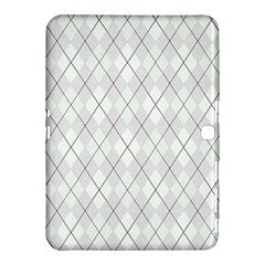 Plaid pattern Samsung Galaxy Tab 4 (10.1 ) Hardshell Case