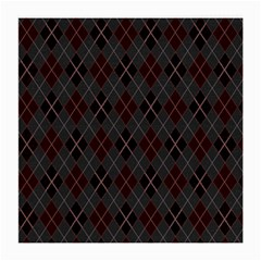 Plaid pattern Medium Glasses Cloth (2-Side)