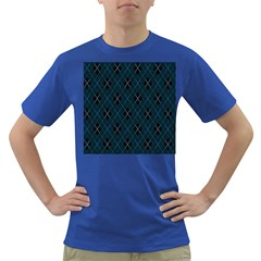 Plaid pattern Dark T-Shirt