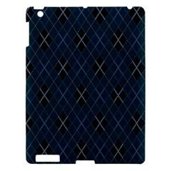 Plaid pattern Apple iPad 3/4 Hardshell Case