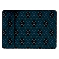 Plaid pattern Samsung Galaxy Tab 10.1  P7500 Flip Case