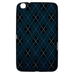 Plaid pattern Samsung Galaxy Tab 3 (8 ) T3100 Hardshell Case