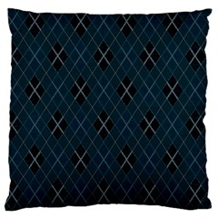 Plaid pattern Large Flano Cushion Case (Two Sides)