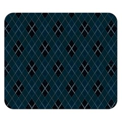 Plaid pattern Double Sided Flano Blanket (Small)