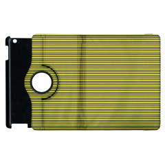 Lines pattern Apple iPad 3/4 Flip 360 Case