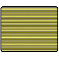 Lines pattern Double Sided Fleece Blanket (Medium)