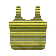 Lines pattern Full Print Recycle Bags (M)